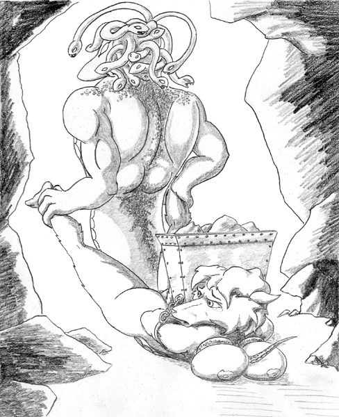 have for snakes pubes does medusa Under night in birth hilda