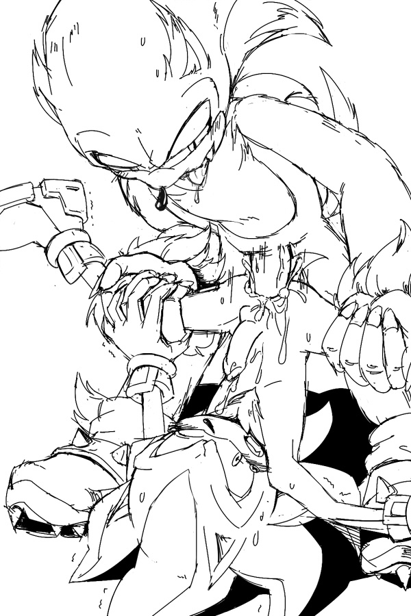 the and werehog shadow sonic Riven of a thousand voices