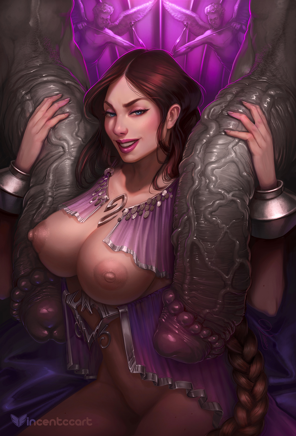 aphrodite war hot 3 god of Rule 63 beauty and the beast