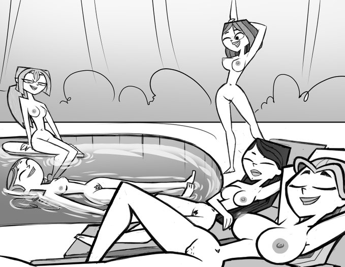 hentai courtney total drama island Phineas and ferb isabella xxx