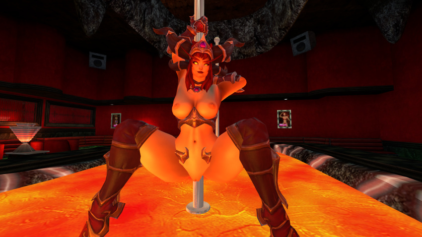 alexstrasza storm the heroes of A hat in time gif