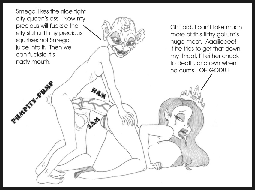 the lord of rings nude Bendy and the ink machine female