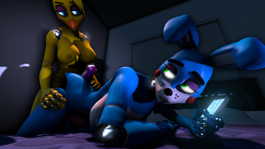 bonnie chica toy x withered Mordecai and rigby gay porn