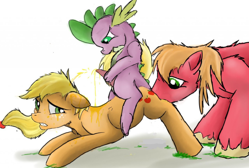 mlp spike and fanfiction applejack Are lenny and carl gay