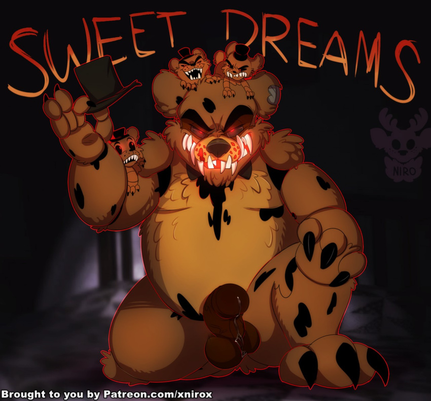 how fnaf nightmare to draw Five nigth at freddy 2