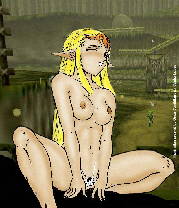 saria is how in time ocarina of old Shinmai maou no testament,
