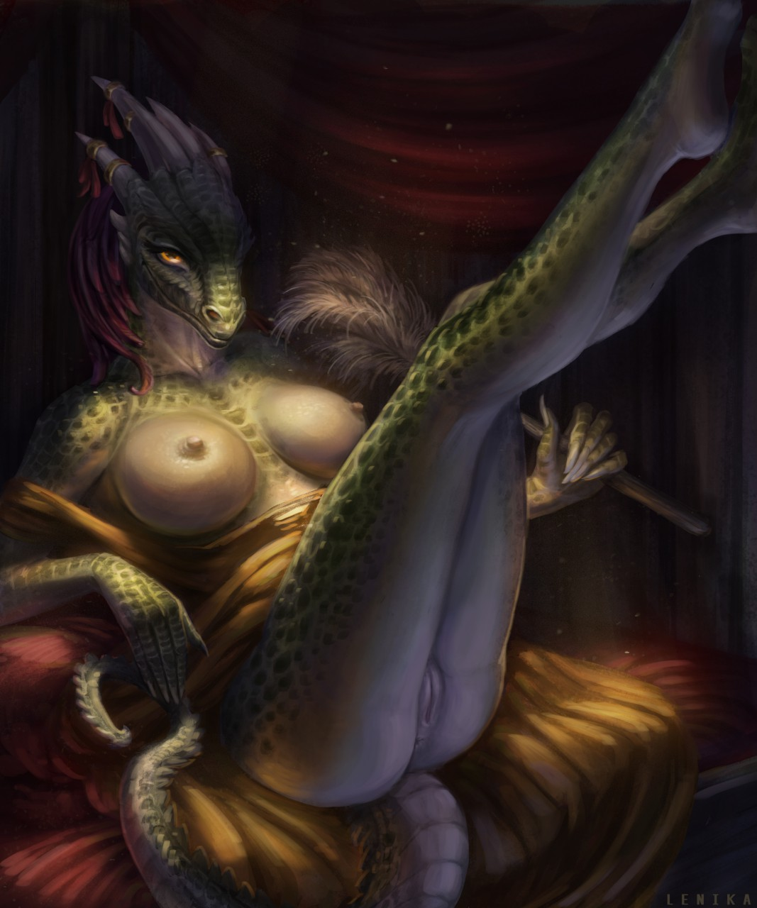 lusty argonian maid hentai the Cum shot on tits gif